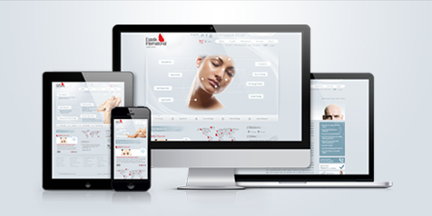 estetik international responsive design